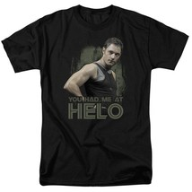 Battlestar Galactica Had me at Hello Sci-Fi TV series graphic adult tee BSG177 image 4