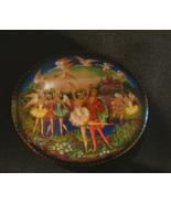 1992 Ardleigh Elliott & Sons Russian Ballet Porcelain Music Box Tchaikovsky - $29.99