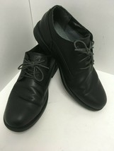 Timberland Carter Notch Waterproof Oxford Shoes A16RM Black Leather Men's 12 M - $35.05