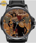 Egyptians Cat vintage art Unique Wrist Watch FAST UK - $54.99