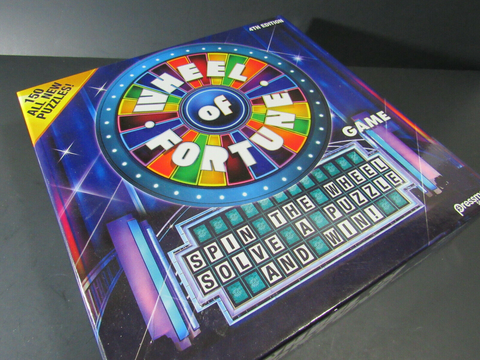 Primary image for Wheel Of Fortune 4th Edition Board Game