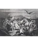 MYTHOLOGY Charon Underworld Ferryman of Hades River Styx - Photogravure ... - $17.28