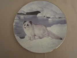 ARCTIC FOX collector plate ALASKAN FRIEND Charles Frace WINTER'S MAJESTY #3 - $24.18