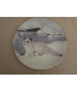 ARCTIC FOX collector plate ALASKAN FRIEND Charles Frace WINTER'S MAJESTY #3 - $24.18