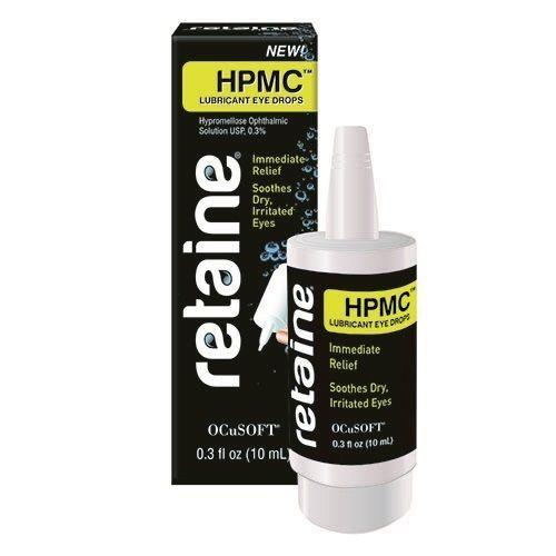 Retaine HPMC 0.3% 10ml eye drops