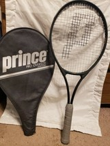 Prince Pro 4 3/8 Grip Tennis Racket with Carrying Cover Great Condition  - $49.49