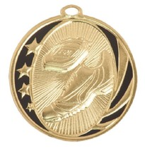 Track Medal Award Trophy With Free Lanyard MS710 School Team Sports - $0.99+