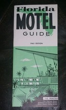 Florida Motel Guide 1963 Edition Great Reference 47 pages - $13.10