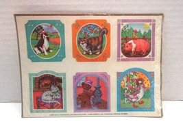 1985 Current Inc. Portraits & Patterns Stickers Unopened Pack Of 4 Sheets - $19.80
