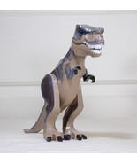 NEW Large T REX Jurassic World +FREE Small Dinosaur Minifigure Fallen Ki... - $23.00