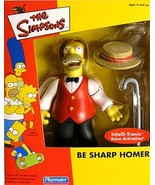 The Simpsons Mail-in - Be Sharp Homer Action Figure - $29.92