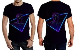 Black Panther Neon Mode Tee Men - $23.99