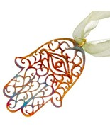 From War to Peace Hamsa Ornament with Ribbon - $49.57