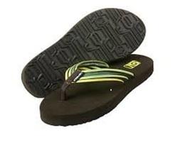 Women's Teva Mush Flip Flops Sap Green Sz 7 - $24.00