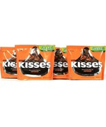 4 Bags Hershey's 10.1 Oz Kisses Milk Chocolate Filled With Caramel BB 5/2020 - $30.99
