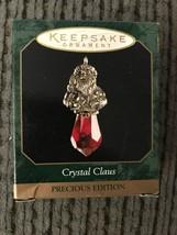 Hallmark Precious Edition Ornament CRYSTAL CLAUS - Dated 1999 - $2.95