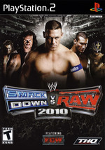 WWE Smackdown vs. Raw 2010 Playstation 2 PS2  Complete CIB - $10.66