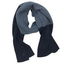 Timberland Men's Color Block Dark Navy Blue Scarf A1GAN - $29.69