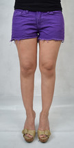 J Brand 7037 Bright Purple Cut Off Short Jeans 26 Womens USA - $39.49