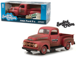 """1952 Ford F-1 Pickup Truck Red \Sanford & Son\"""" (1972-1977) TV Series 1/... - $85.07"""