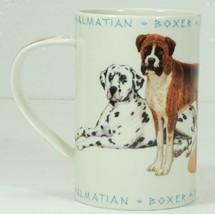 Dunoon Mug DALMATIAN, BOXER, ROUGH COLLIE, BULLDOG, BASSETT HOUND Scotland - $19.99