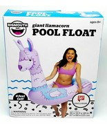 Bigmouth INC.Vinyl Inflatable giant llamacorn pool float - $29.99