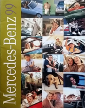 1999 MERCEDES-BENZ full-line brochure catalog US 99 C CLK E ML S SL SLK - $8.00