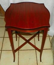 Mahogany End Table / Side Table by Carolina - $299.00