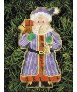 Special Delivery Santa Olde Time Santa Ornament kit christmas perforated... - $5.40