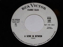 Stained Glass A Scene In Between Mediocre Me 45 Rpm Record RCA Victor Pr... - $299.99