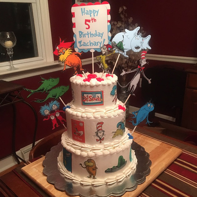 Swell Dr Seuss Edible Cake Decorations One Fish And 14 Similar Items Personalised Birthday Cards Epsylily Jamesorg