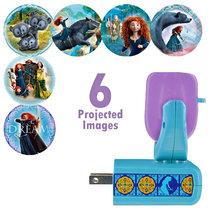 Disney Pixar's Brave Projectables 6 Image LED Plug In Night Light - $14.05