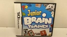 Junior Brain Trainer (Nintendo DS, 2009) - $7.91