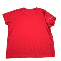 Brooks Fleet Feet Running Shirt Size L Large Womens Red Dry Fit Short Sl... - $11.23