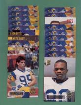 1994 Stadium Club Los Angeles Rams Football Set - $4.00