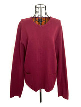 Eileen Fisher Stretch Knit Zip Cardigan Sweater Cotton Blend Long Sleeve... - $44.88