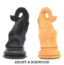 "Seirawan (Sharper) Elephant Chess Variant Kit in Ebony / Boxwood - 3""  PW035A - $42.00"