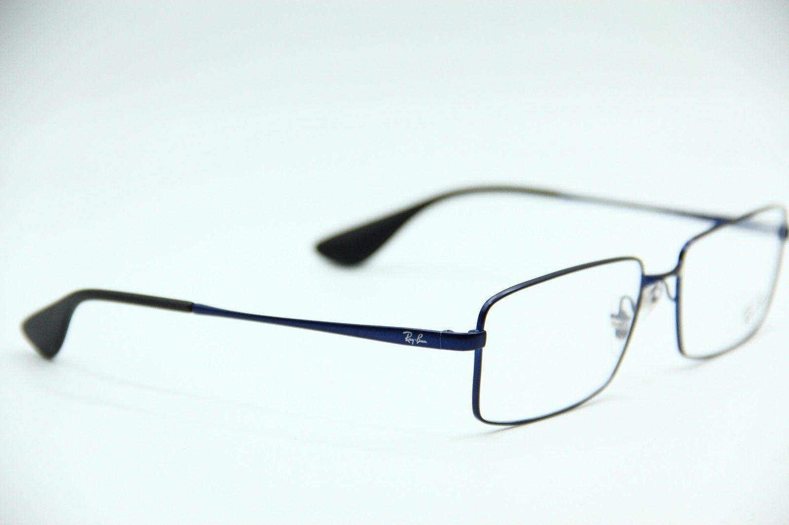 1f77b5171b5 NEW RAY-BAN RB 6337M 2510 METAL BLUE EYEGLASSES AUTHENTIC FRAME RX RB6337M  55-