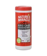 Nature's Miracle Bird Cage Scrubbing Wipes  - $7.38
