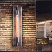Retro Grand Edison Sconce T30 Bulb E27 Light Wallmount Wiredrawing Finish Lamp - $131.85