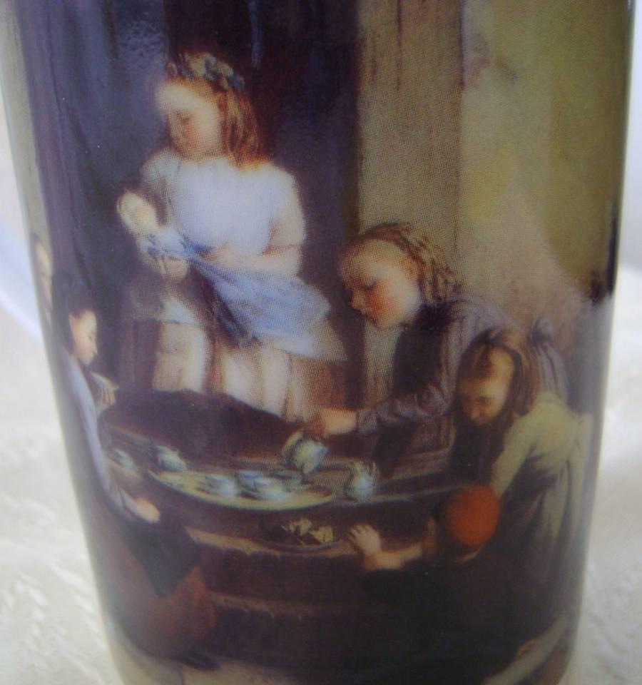 Mug, Bone China, Victorian Children Design