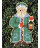 Nordic Santa Olde Time Santa Ornament kit christmas perforated paper  - $5.40