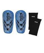 Mitre Breathelite Shinguards & Sleeve Set Junior Player Under 4 Feet Blu... - $6.93