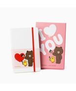 LINE Friends MOLESKINE Love Edition Note Naver Character Desktop Gift Di... - $74.76