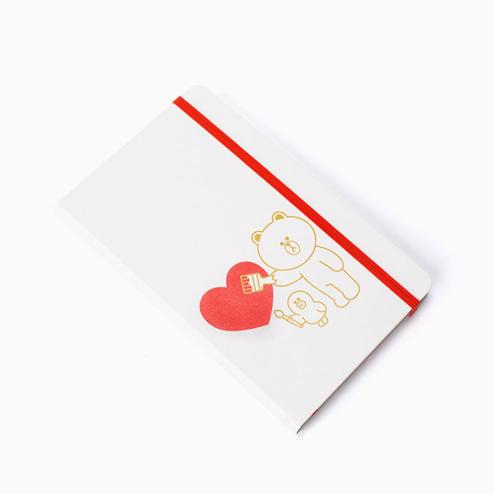 LINE Friends MOLESKINE Love Edition Note Naver Character Desktop Gift Diary Acc