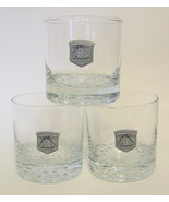 Cutty Sark Shot Glass Three Piece Set The Real McCoy With Emblem and Bub... - $40.09
