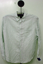 Cubavra Fern Greene Checked Slim Fit Long Sleeve Casual Shirt - XL - $19.95
