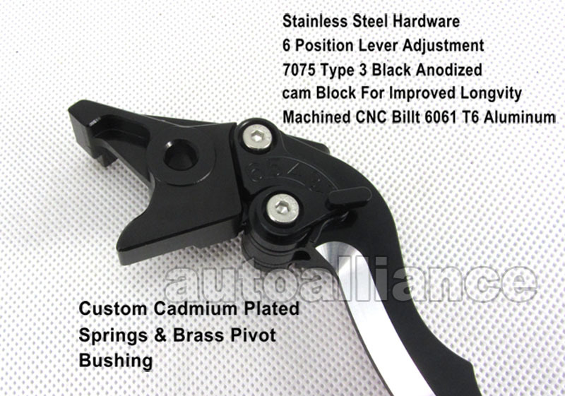 2 X Blade Cnc Brake Clutch Levers For Suzuki and 46 similar