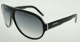 Carrera 25S Black White Gray / Gray Sunglasses 25/S WZF - $107.31