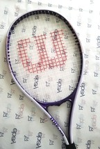 WILSON Tennis Racket TRIUMPH V-Matrix System PURPLE Titanium EUC - $8.38